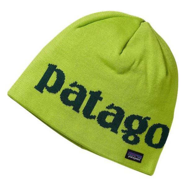 Шапка Patagonia Beanie Hat зеленый