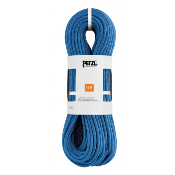 Веревка динамическая Petzl Petzl Contact 9,8 мм (бухта 80м) синий 80M