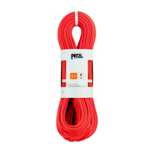 Веревка динамическая Petzl Petzl Arial 9,5 мм (бухта 70 м) оранжевый 70M