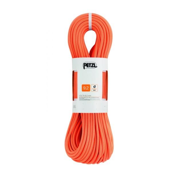 Веревка динамическая Petzl Petzl Volta 9,2 мм (бухта 30 м) оранжевый 30M