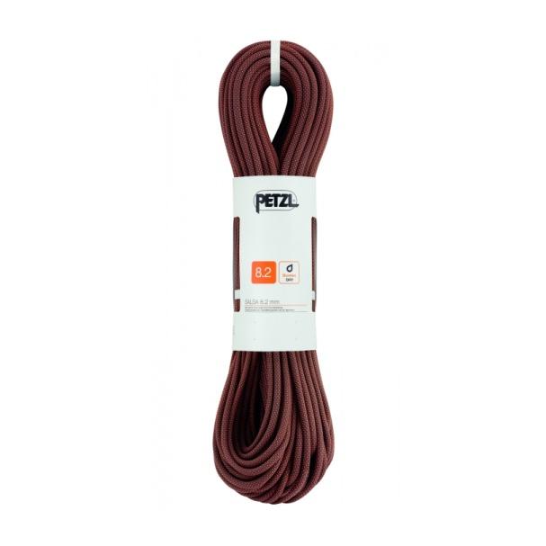 Веревка динамическая Petzl Petzl Salsa 8,2 мм (бухта 60 м) черный 60M