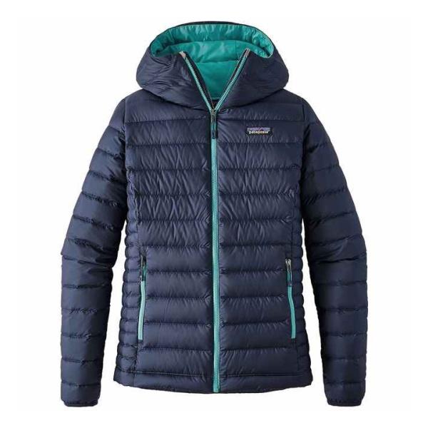 Куртка Patagonia Patagonia Down Sweater Hoody женская