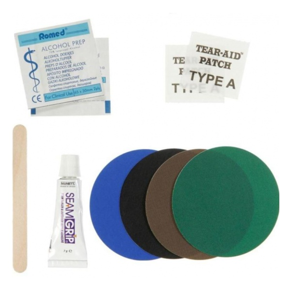 Ремнабор Therm-A-Rest Permanent Home Repair Kit гребень золотого фазана hareline golden pheasant complete crest