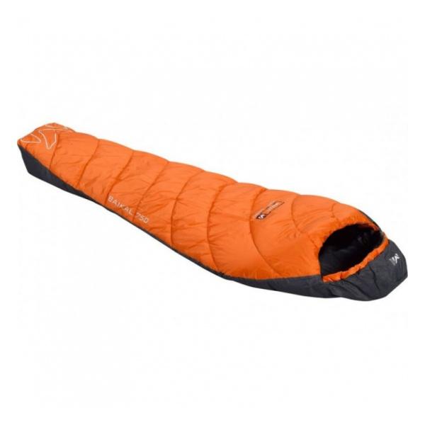 Спальник Millet Baikal 1100 Long оранжевый LEFTZIP