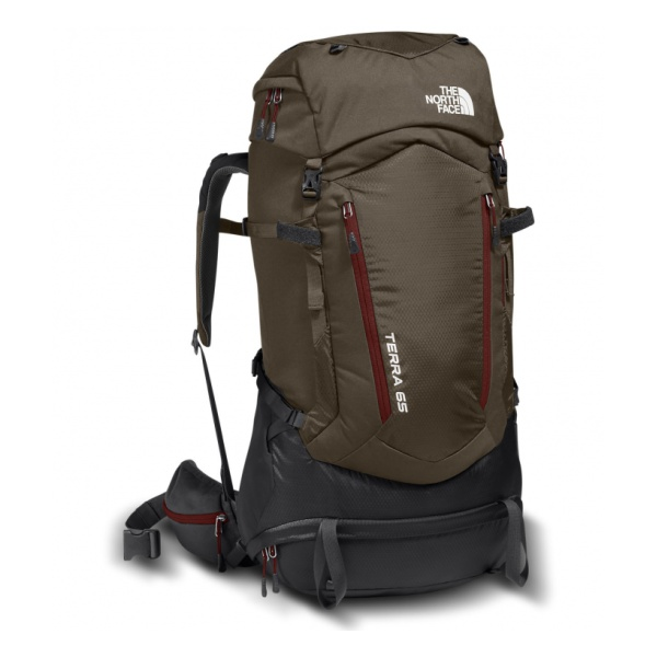 все цены на Рюкзак The North Face The North Face Terra 65 коричневый S/M в интернете