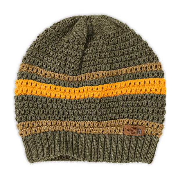 Шапка The North Face The North Face Noosch Beanie хаки OS the north face triple cable pom beanie красный one t0cln6