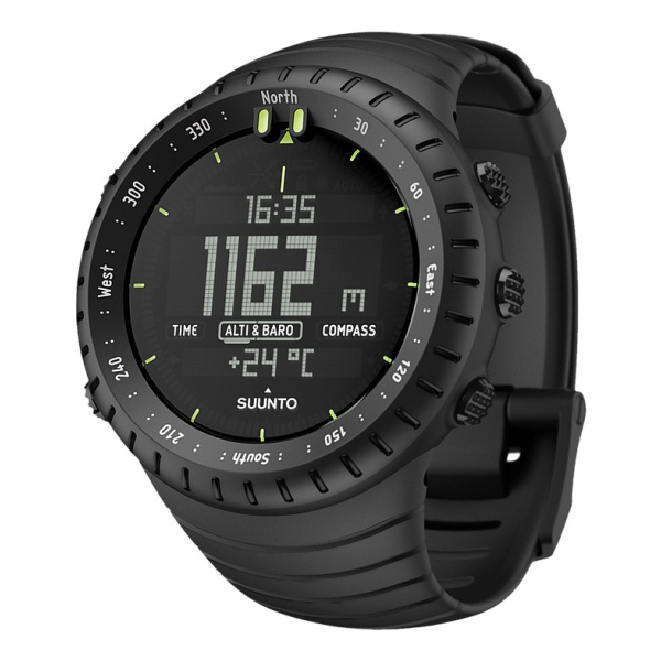 Часы-компас Suunto Core All Black черный