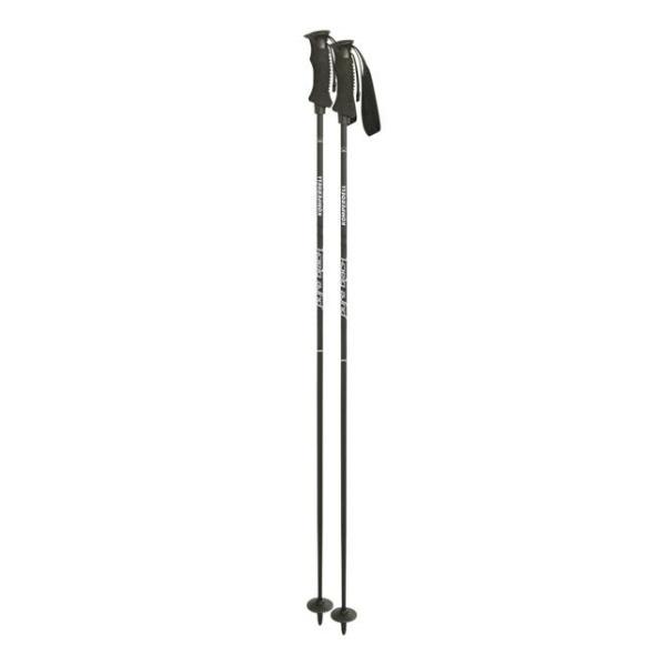 Горнолыжные палки Komperdell Carbon Pure Black '10 черный 115
