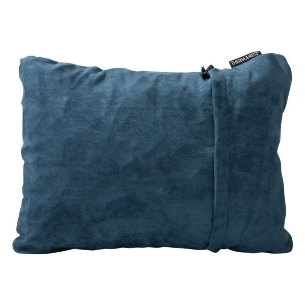 Подушка Therm-A-Rest Therm-A-Rest Compressible M синий M(36Х46Х10СМ) подушка наволочка therm a rest therm a rest trekker pillowcase серый