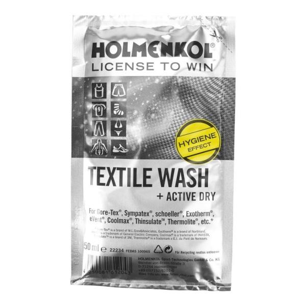 Стирка HOLMENKOL Holmenkol для мембранных тканей Textile Wash Sachet 50 50ML