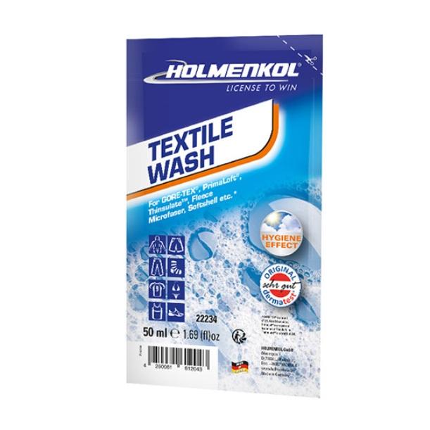 Купить Стирка Holmenkol для мембранных тканей Textile Wash Sachet 50