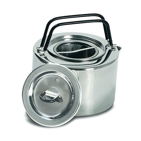 Чайник Tatonka Teapot 1.5L серебристый 1.5л