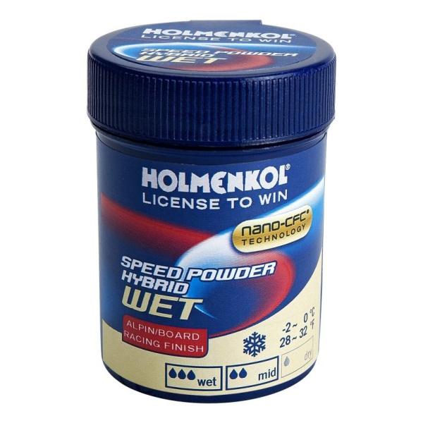 Порошок-ускоритель HOLMENKOL Hybrid WET (0/-4) порошок ускоритель holmenkol hybrid wet 0 4
