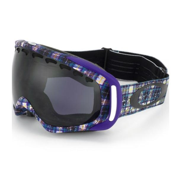 Горнолыжная маска Oakley Crowbar Danny Kass фиолетовый