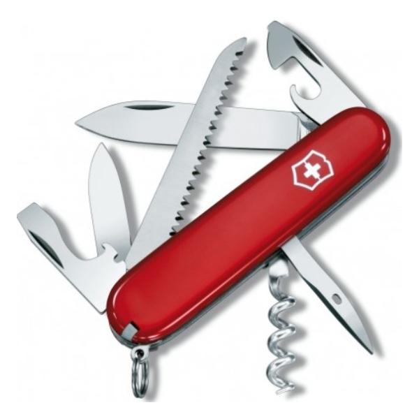 Нож перочинный Victorinox Victorinox Camper 91мм нож перочинный victorinox camper 1 3613 91мм 13 функций красный
