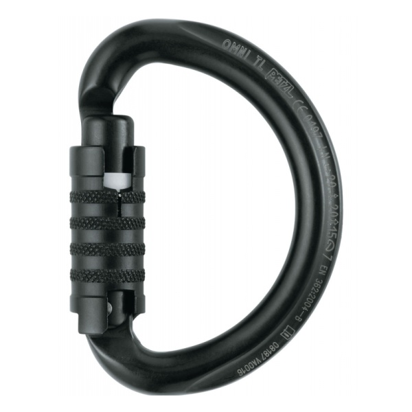 Карабин Petzl Omni Triact-Lock черный