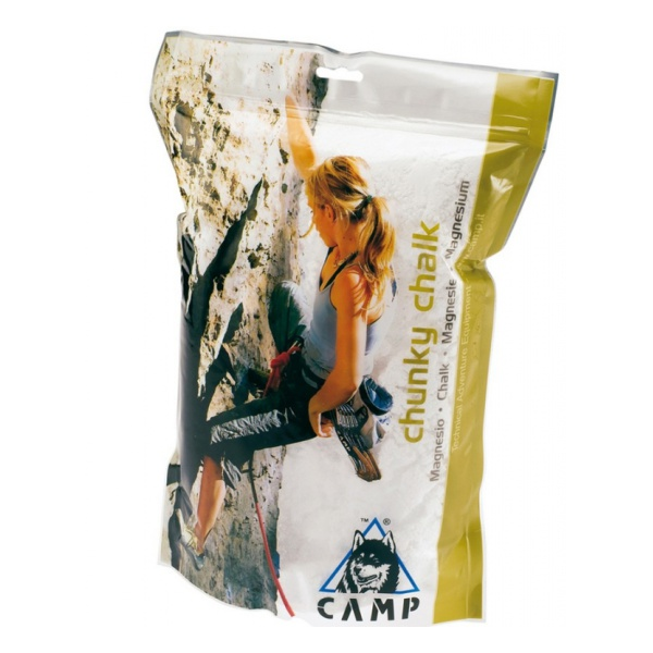 Магнезия CAMP Camp в пакете Chunky Chalk 300 г 300гр строп camp camp shock absorber rope single 185 185cm