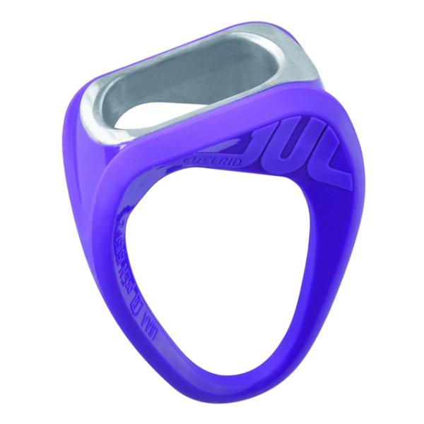 Спусковое устройство Edelrid Edelrid Jul фиолетовый петля edelrid edelrid aramid cord 6 мм 30cm