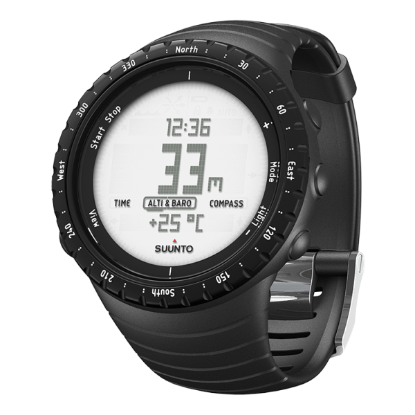 Часы-компас Suunto Core Regular черный