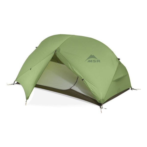 Палатка MSR MSR Hubba Hubba HP зеленый 2/местная палатка военная 3х3 высота 2 метра и выше