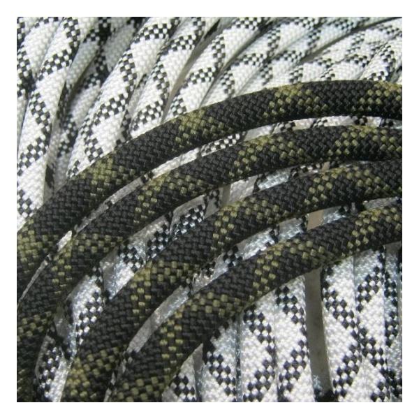 Веревка полустатическая Коломна (ОАО Канат) 11 мм белый 1м