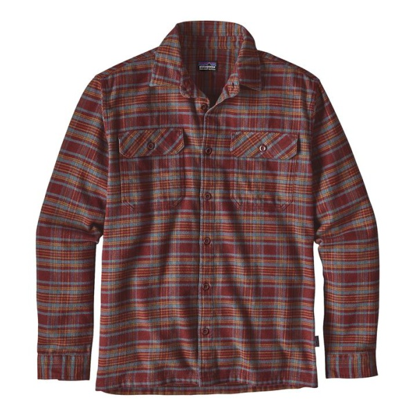 Рубашка Patagonia Patagonia Flord Flannel мужская футболка patagonia rania top женская