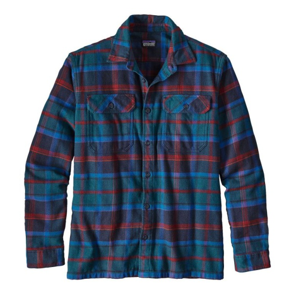 Рубашка Patagonia Patagonia Flord Flannel мужская панама patagonia patagonia baby sun bucket детская голубой 5t
