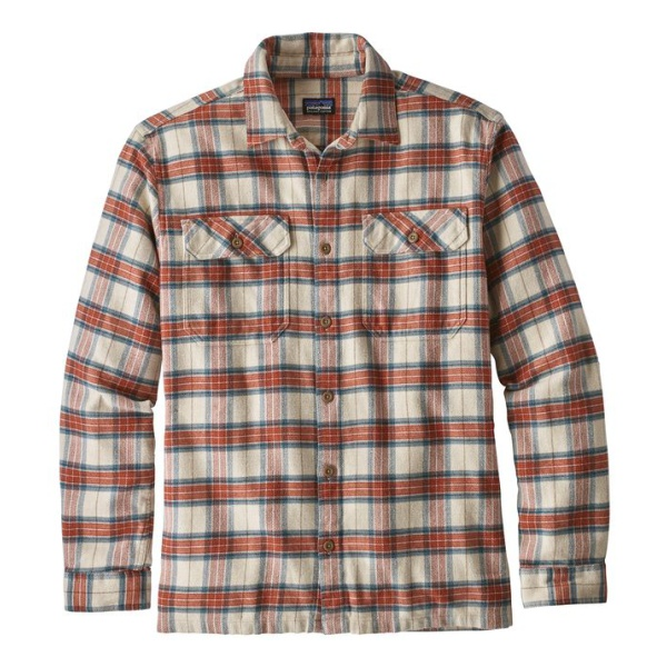 Рубашка Patagonia Patagonia Flord Flannel мужская брюки patagonia patagonia flannel lined straight fit jeans