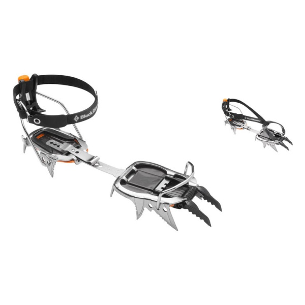 Кошки Black Diamond Black Diamond Cyborg Pro Crampon серый ONE