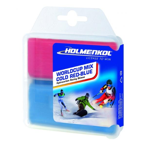 Парафин HOLMENKOL Worldcup Mix COLD 2x35 g красный colosseo 70805 4c celina