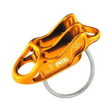 Устройство спусковое Petzl Reverso 4 оранжевый