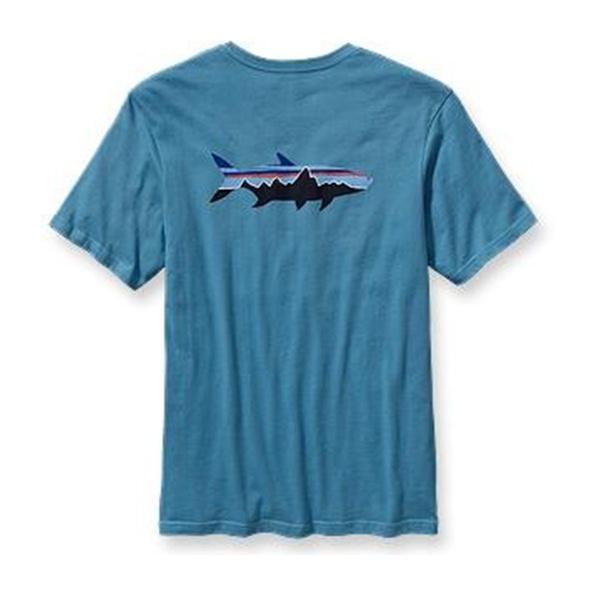 Футболка Patagonia Patagonia Tarpon Fitz Roy T-Shirt millet fitz roy