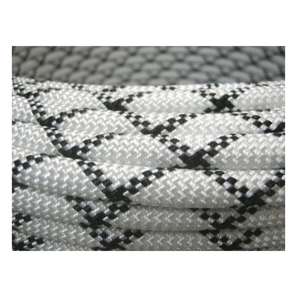 Веревка статическая Коломна (ОАО Канат) Коломна 10 мм белый 1м