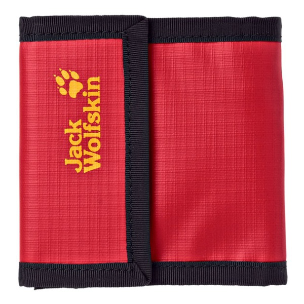 Кошелек Jack Wolfskin Jack Wolfskin Deposit красный футболка мужская jack wolfskin moscow цвет красный 5017131 2015 размер s 42 44