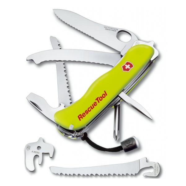 Нож перочинный Victorinox Victorinox Rescuetool One Hand 0.8623.Mwn 111мм