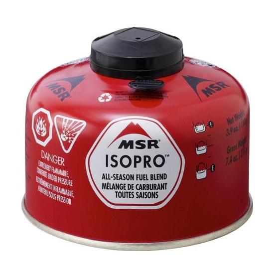 Газовый баллон MSR ISO Pro 110 г 113г
