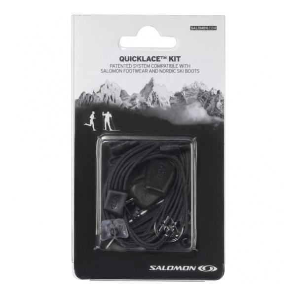 Шнурки Salomon Salomon Quicklace Kit черный 8.5