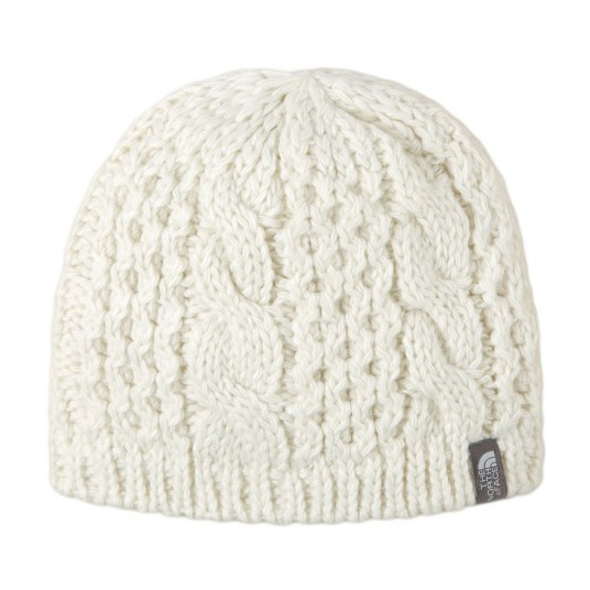 Шапка The North Face The North Face Cable Minna Beanie женская белый OS ботинки the north face the north face th016amvyk48