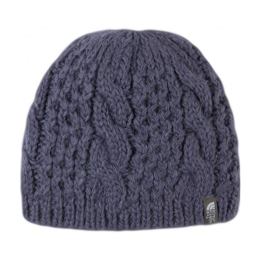 Шапка The North Face The North Face Cable Minna Beanie женская темно-серый OS the north face ski tuke iv os t0a6w6
