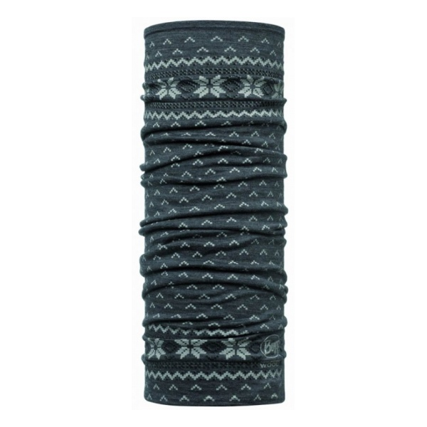 Бандана BUFF Merino Wool Buff Floki темно-серый ONESIZE thermfit merino wool