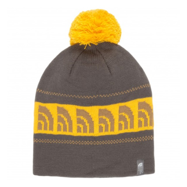 Шапка The North Face The North Face Bamboozle Beanie темно-серый шапка the north face the north face th016cucnub7