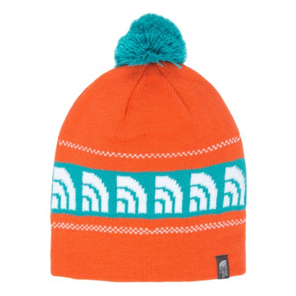 Шапка The North Face The North Face Bamboozle Beanie оранжевый the north face triple cable pom beanie красный one t0cln6