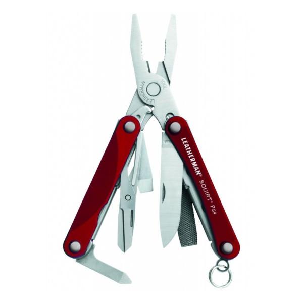 все цены на  Инструмент Leatherman Leatherman (мультитул) Squirt Ps4 красный  онлайн