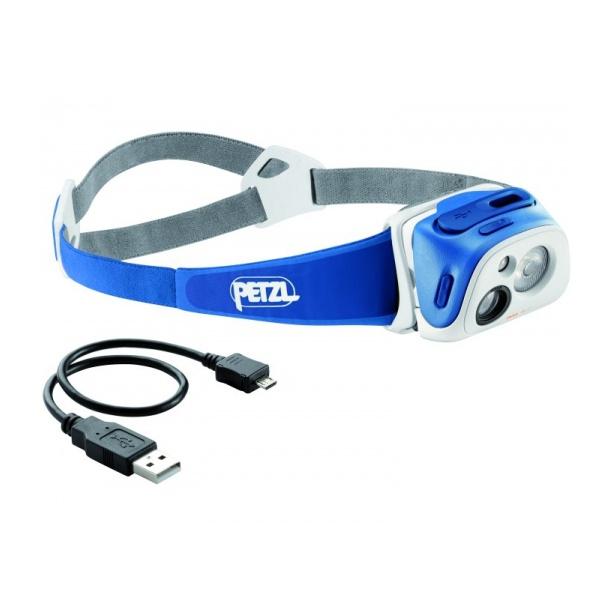 Фонарь налобный Petzl Tikka R+ синий