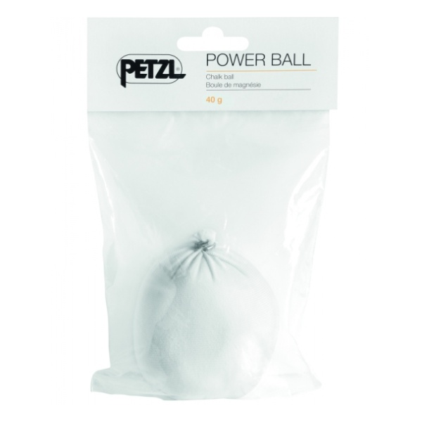 Магнезия Petzl Petzl шарик Power Ball 40G магнезия petzl petzl power crunch 25гр