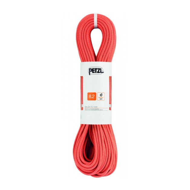 Веревка динамическая Petzl Salsa 8,2 мм (бухта 50 м) красный 50M