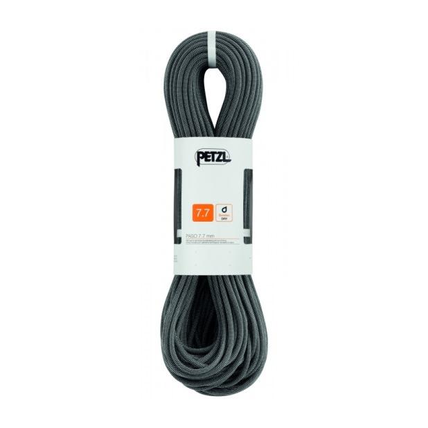 Веревка динамическая Petzl Petzl двойная Paso 7,7 мм (бухта 60 м) черный 60M