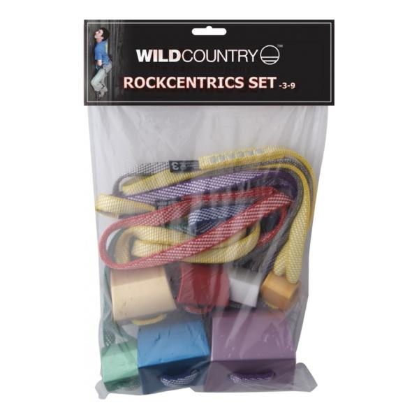 Набор гекс WILD COUNTRY Rockcentrics (7 штук) разноцветный