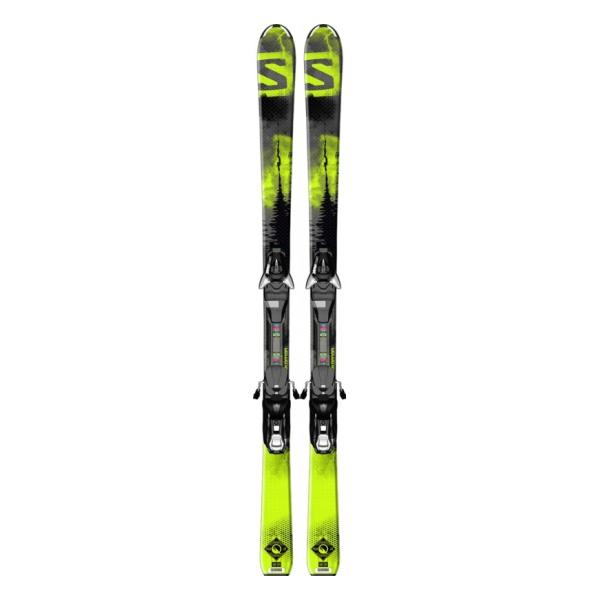 Горные лыжи Salomon Salomon Q-Max M + Ezy7 B80 детские черный (15/16) сумка для ботинок salomon salomon extend max gearbag черный