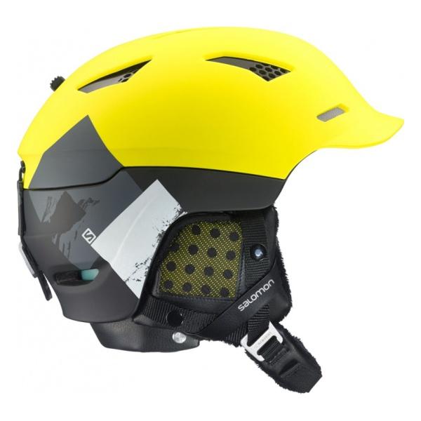 Горнолыжный шлем Salomon Prophet C. Air желтый S(53/56)